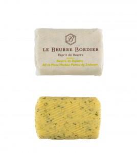 Beurre Bordier 125gr ail et fines herbes poivre de Sichuan