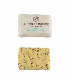 Beurre Bordier 125gr algues