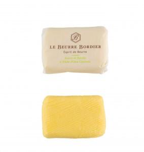 Beurre Bordier 125gr huile d'olive citronnée