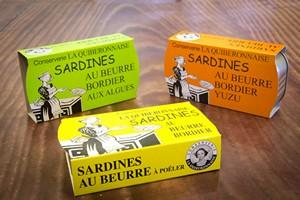 Boîte de sardines au beurre Bordier
