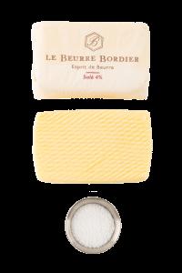 beurre bordier 4% salé